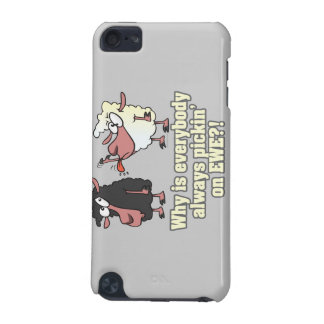 picking on EWE black sheep humor iPod Touch (5th Generation) Covers