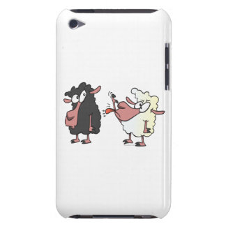 picking on the black sheep cartoon barely there iPod cover