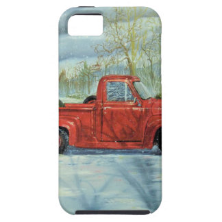 Picking up the Tree for Christmas Tough iPhone 5 Case