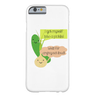 Pickle and Onion Humor Barely There iPhone 6 Case
