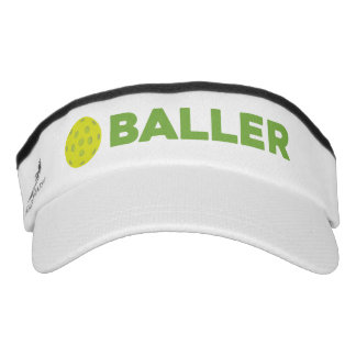 (Pickle)Baller Funny Pickleball Visor