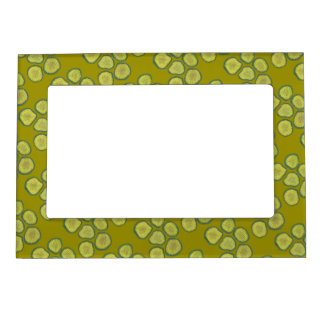 Pickle Chips Green Dill Sweet Kosher Pickles Gift Magnetic Picture Frame