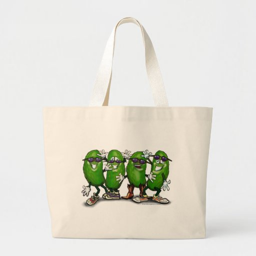 Pickle Party Jumbo Tote Bag