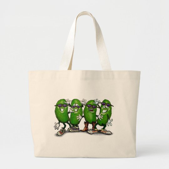 Pickle Party Large Tote Bag