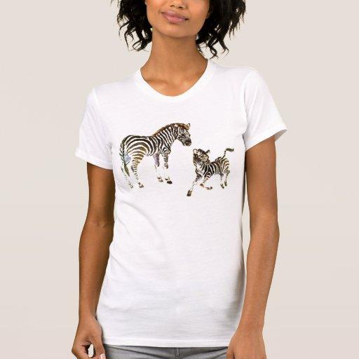 pickle zebra tee shirt