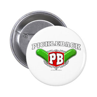 Pickleback Logo 6 Cm Round Badge