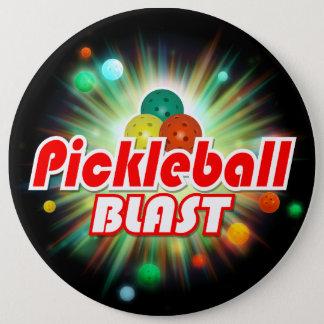 Pickleball Blast 2A-2C Image Options 6 Cm Round Badge