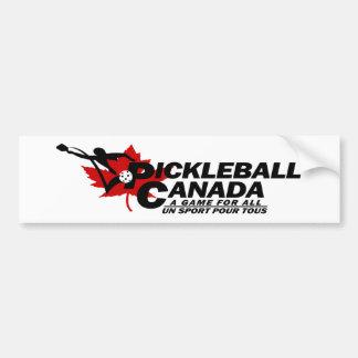 Pickleball Canada Logo Bumper Sticker