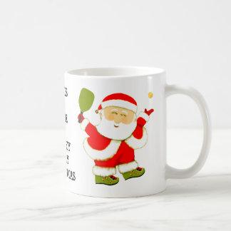 Pickleball Christmas Coffee Mug