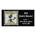 Pickleball Fanatic Customised Photo Card