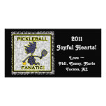 Pickleball Fanatic Gifts & T Shirts Picture Card