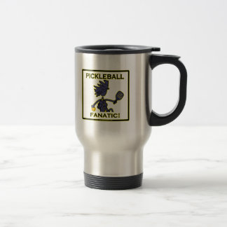 Pickleball Fanatic Travel Mug