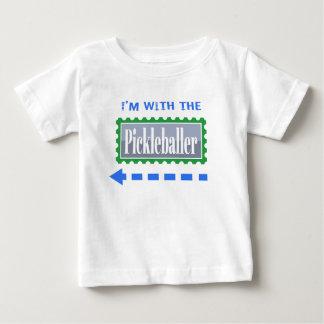 Pickleball Im With the Pickleballer Funny T Shirt