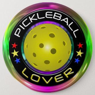 Pickleball Lover 1 Options 6 Cm Round Badge