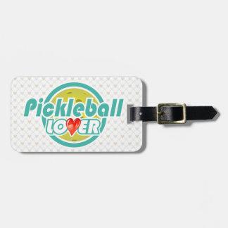 Pickleball Lover 2&2B Luggage Tags Options