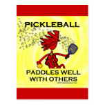 Pickleball Paddles Well With Others