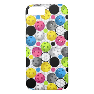 Pickleball print with Polka Dots iPhone 8/7 Case