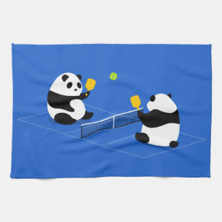 "Pickleball Sports Towel: ""Pickleball Pandas"" Towel"