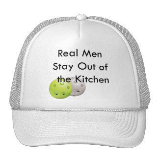 Pickleball -- stay out of the kitchen cap