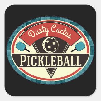 Pickleball Team Stickers - Vintage Design