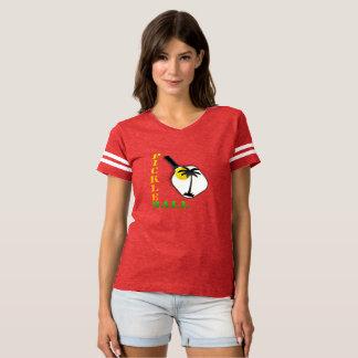 Pickleball Tropical Tee Shirt (Woman's)