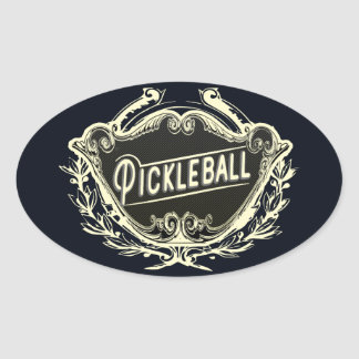 Pickleball Vintage Style Sticker