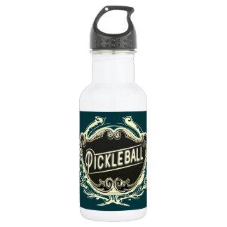 Pickleball Vintage Water Bottle Design