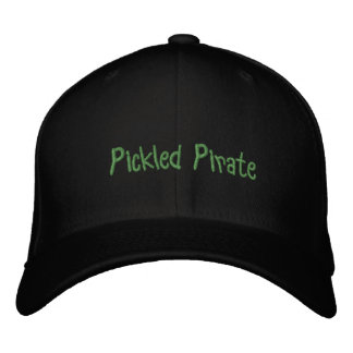 Pickled Pirate Hat Embroidered Baseball Cap