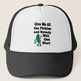 Pickles...P.O.T.S. Trucker Hat
