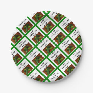 pickles paper plate
