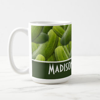 Pickles; Pickle Pattern Coffee Mug