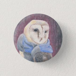 Pickles the Owl 3 Cm Round Badge