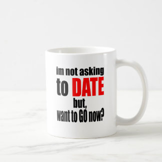 pickup line asking date red awesome party couple n coffee mug