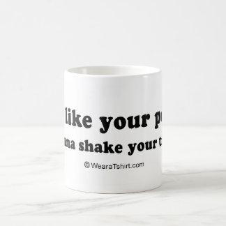"PICKUP LINES - ""I wanna shake your tree"" Coffee Mug"