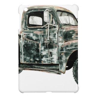 Pickup Truck Scrap Oldtimer Usa Vehicle Transport. iPad Mini Cover