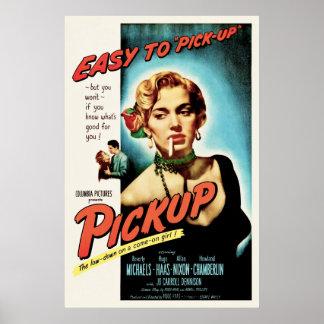 Pickup - Vintage 1951 Film Noir Movie Poster