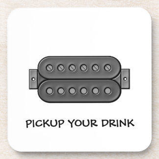 Pickup Your Drink Coaster
