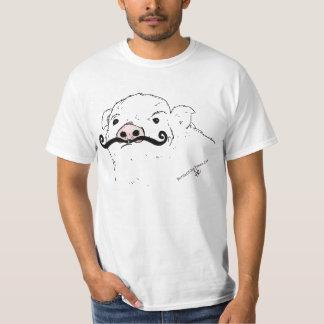 #PickYourPig in Handlebar Moustache Shirt