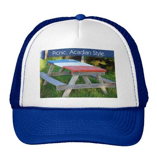 Picnic. Acadian Style. Trucker Hats