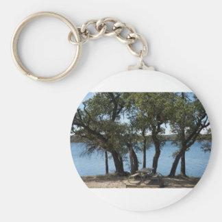 Picnic at the Lake Key Ring