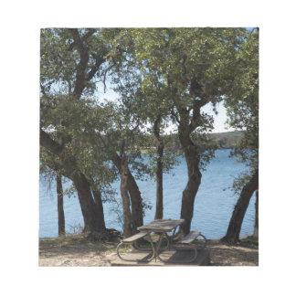 Picnic at the Lake Notepad