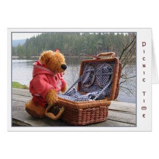 picnic card