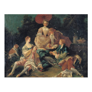 Picnic in a Park Postcard
