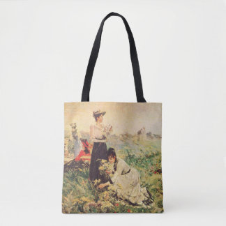 Picnic in Normandy by Juan Luna. Tote Bag