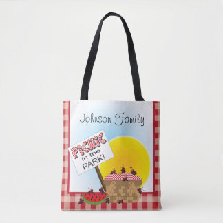 Picnic in the Park Tote Bag