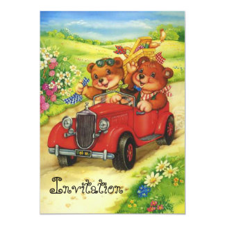 Picnic time for Teddy Bears! Card