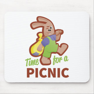 Picnic-time Mouse Pad