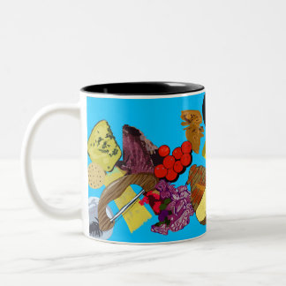 Picnic Two-Tone Coffee Mug