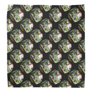 Picnic Under the Maple Leaves Vintage Old Japan Bandana