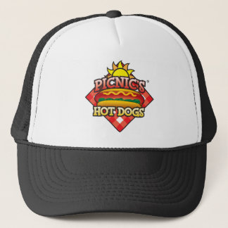 Picnic's Hot Dogs Logo Trucker Hat